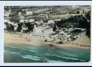 W8U37/ Comarruga Hotel Brisamar Spanien AK 1960