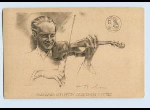 W9Y00/ Barnabas von Ceczy Parlaphon Electric AK ca.1925