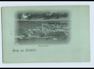 DP34-8078/ Gruß aus Eichstätt Mondscheinkarte ca.1900