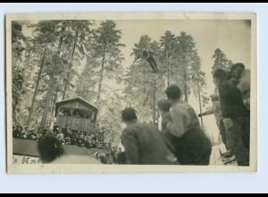 W9Y15/ Obergof Skispringen Birger Ruud Skispringer Foto AK 1965