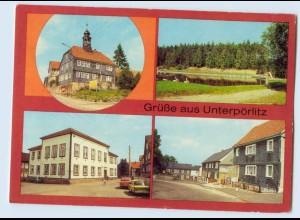 W9Z79/ Unterpörlitz Kr. Ilmenau Bild und Heimat AK