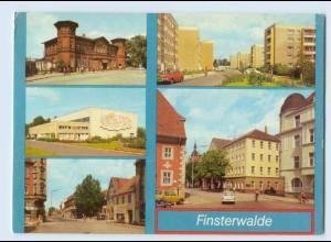 W9Z58/ Finsterwalde mit Bahnhof Bild und Heimat AK