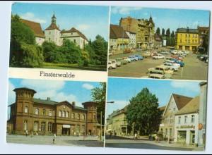 W9Z57/ Finsterwalde mit Bahnhof Bild und Heimat AK