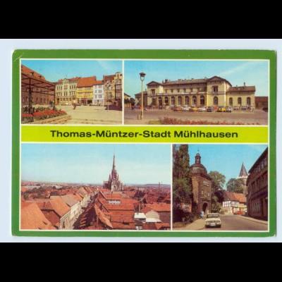 X1A12/ Thomas-Müntzer-Stadt Mühlhausen Bild und Heimat AK
