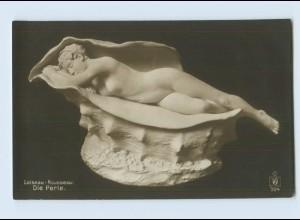H156/ Skulpturen Foto AK Loiseau-Rousseau ca.1912