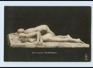 H150/ Skulpturen Foto AK Ernst Schlosser ca.1912