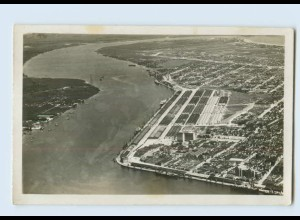G928/ Santos Porto Hafen Brasilien Foto AK 1932 Brasil