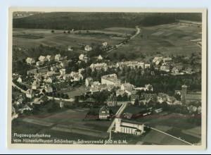 X1A79-7464/ Schömberg Schwarzwald Luftaufnahme Foto AK 1940