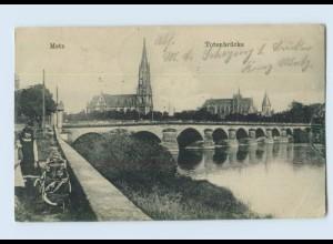 H769/ Metz Lothringen Totenbrücke AK 1917