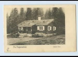 H221/ Fra Frognersaeteren Gammel Stur. Norwegen AK ca.1905