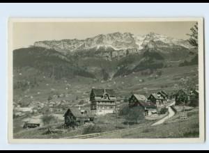 H217/ Amden Schweiz Foto AK ca. 1935