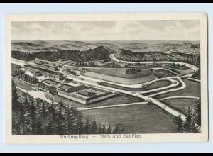 H708/ Nürburgring bei Adenau Autorennen AK ca.1935