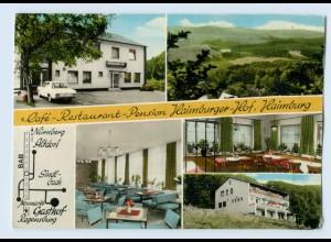 X1E23/ Haimburg bei Berg Cafe Restaurant AK 1973
