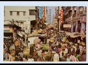 X1D93/ Hong Kong Open-Air Market in Kowloon AK