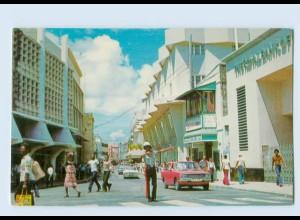 X1E07/ Barbados Bridgetown Broad Street AK ca.1970