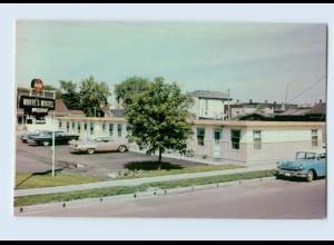 I1081/ Ontario White`s Motel AK Canada Kanada 1965