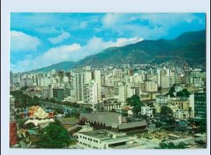 X1D72/ Caracas Venezuela Centro de la Ciudad AK ca. 1970