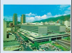 X1D62/ Caracas Venezuela Simon Bolivar Center AK ca. 1970