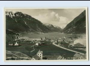 X1E79/ Odda Hardanger Norwegen Foto AK ca.1935