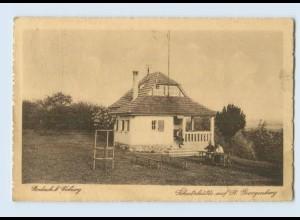 Y8956/ Rodach bei Coburg Schutzhütte auf St. Georgenberg AK 1927