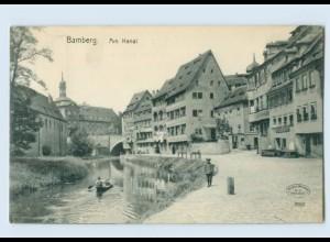 X1E40/ Bamberg Am Kanal AK 1909