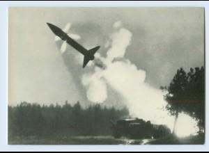DP050/ Bundeswehr AK Abschuß Rakete Honest John