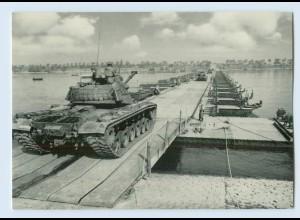 DP056/ Bundeswehr AK Pioniere beim Brückenbau Panzer
