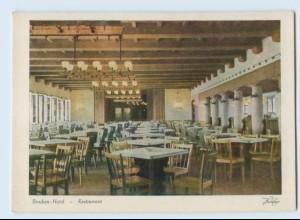 X1F36/ Wernigerode Schierke Brocken Hotel Restaurant AK 1951