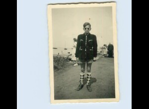 X1F53/ Junge mit Sonnenbrille Privat Foto ca.1955