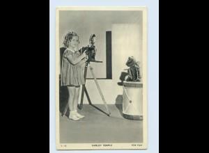 N2354/ Shirley Temple mit Fotoapparat Kamera Teddy AK ca.1935