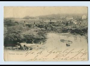 N1831/ Trinidad Pitch Lake 1902 Karibik