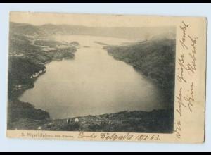 N2771/ S. Miguel-Acores Sete Cidades AK 1903 Azoren
