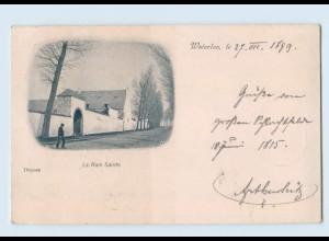 Y1617/ Waterloo La Haie Saine Belgien AK 1899