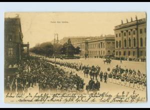 Y1244/ Berlin Kaiser Wilhelm II. Fahnen-Kompanie AK 1906