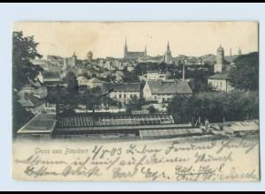 N2797-026./ Gruß aus Bautzen AK 1903