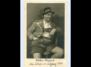 X1H41/ Viktor Hospach Opernsänger Oper Foto AK 1944