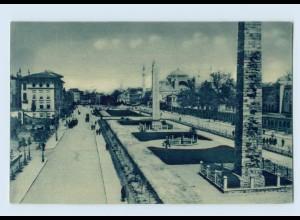 K084/ Constantinople Park des Sultan Achmet Türkei AK ca.1925
