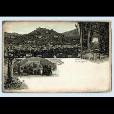 I1944-998./ Eisenach Litho AK ca.1895