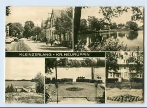 I1929/ Kleinzerlang Kr. Neuruppin Foto AK 1969