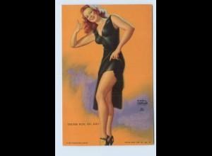 I1996/ Pin Up Erotik Mutoscope Card 1948
