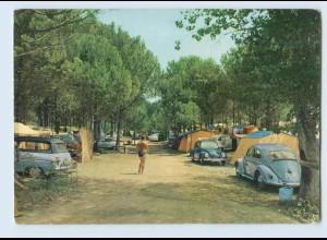 K008/ Torre di Fine (Venezia) Marina di Sante Croce Campingplatz VW Käfer 1964