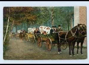 K260-030./ Spreewald Hochzeitszug AK 1911