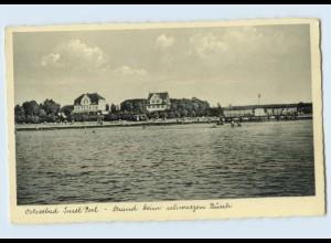 K645-239./ Ostseebad Insel Poel beim schwarzen Busch AK ca.1935