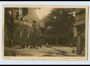 K649-990./ Erfurt Hof des evangel. Waisenhauses AK 1926