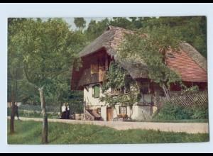 K844/ Schwarzwaldhaus Gutachtal Hans Hildenbrandt Nr. 1022 AK ca.1912