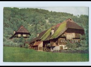 K843/ Schwarzwaldhaus im Gutachtal Hans Hildenbrandt Nr. 1025 AK ca.1912