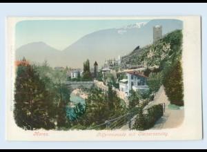 K806/ Meran Gilfpromenade AK ca.1900 Südtirol