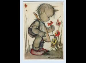 X1K69/ Hummel AK Der Blumenfreund Verlag: Müller Nr. 4774 1939
