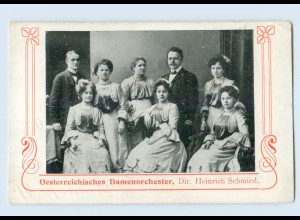 L209/ Österreichisches Damen-Orchester schöne AK ca.1910