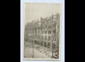 N251/ Leipzig Volkshaus nach den Unruhen 1920 AK